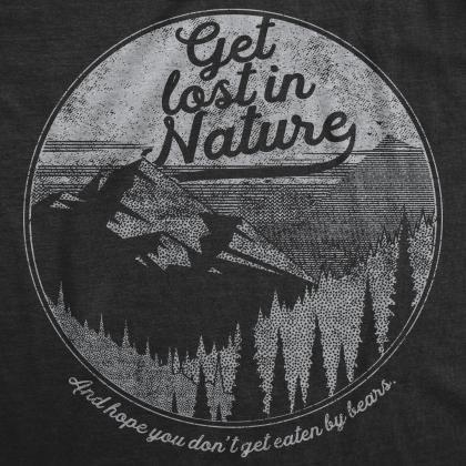 Funny Nature Shirt, Great Outdoors ..