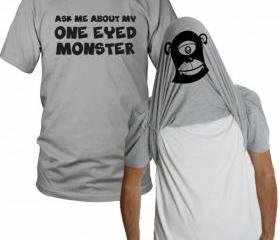 One Eyed Monster T Shirt S-3XL