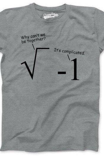 Math Problems T-Shirt, Funny Men's TShirt, Math Shirt, Nerdy Shirts, Gift for Math Teacher, Mathematician, Gift for Student, Mathlete