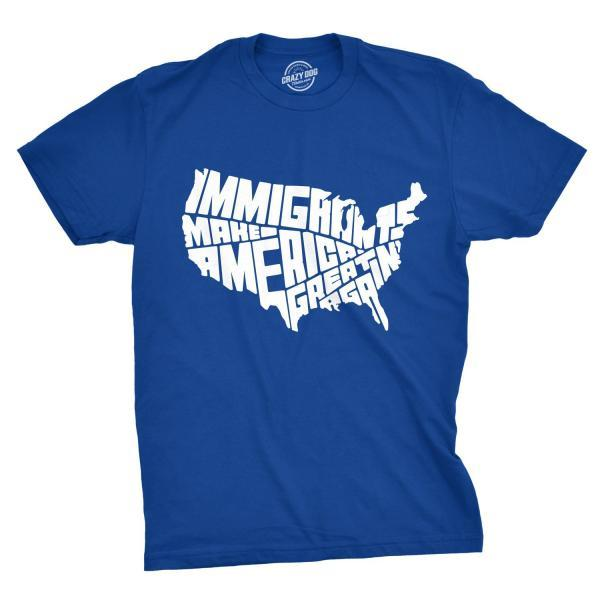 Immigrants Make America Great Again Shirt, Political Shirts, Protester Shirts, Anti Trump Shirt, Rebel T Shirt, Cool Shirt, Anti Government